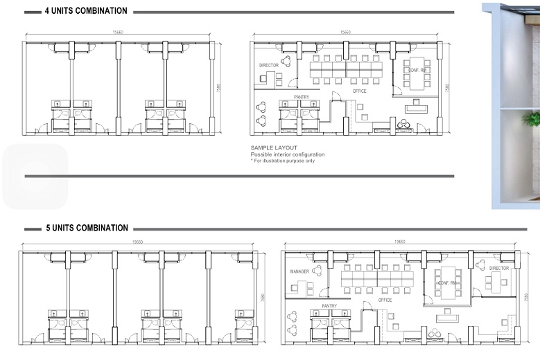 The bridge cambodia retail mall apartments soho for 4 unit building plans